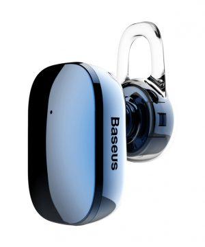 Bluetooth Handsfree BASEUS, V4.1 Bluetooth, Modrá farba
