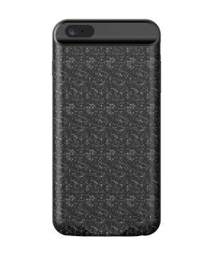 Dobíjací obal BASEUS na iPhone 6 a 6S, v čiernej farbe, 2500 mAh.