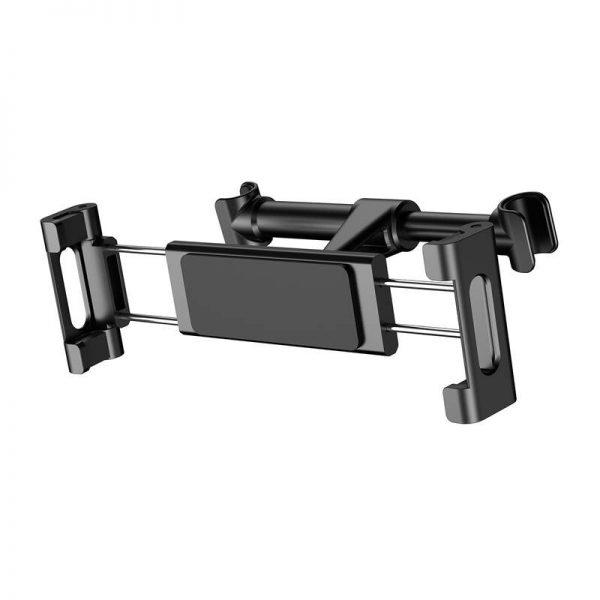 Držiak na opierku sedačky auta na mobil alebo tablet (4.7 - 12.9 palcové), čierny