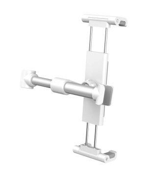 Držiak na opierku sedačky auta na mobil alebo tablet (4.7 - 12.9 palcové), biely