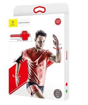 Púzdro na behanie pre mobilné telefóny do 5.0 palcov v červenej farbe