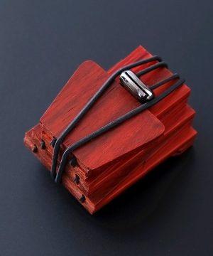 Drevená pánska kravata z prírodného čerešňového dreva