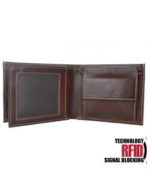 RFID kožená peňaženka