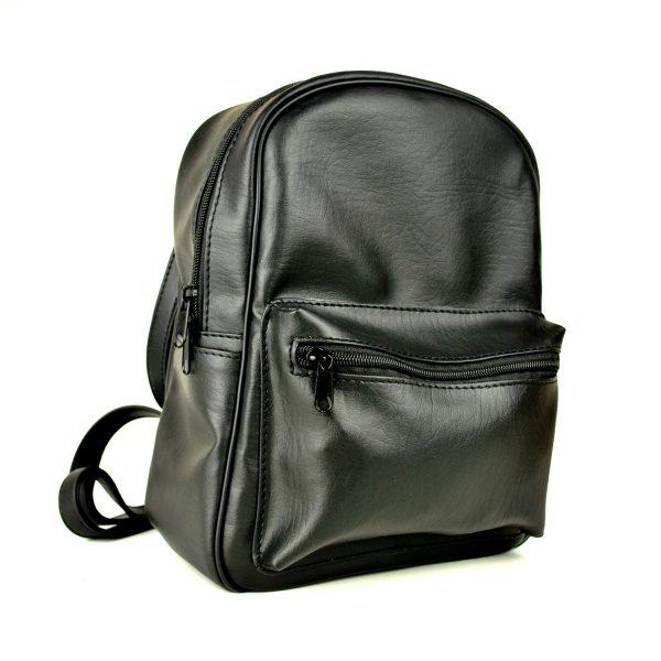Luxusný praktický ruksak 8672k v čiernej farbe