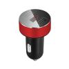 Nabíjací adaptér do zapaľovania s LED ukazovateľom napätia, 3.1A v červenej farbe