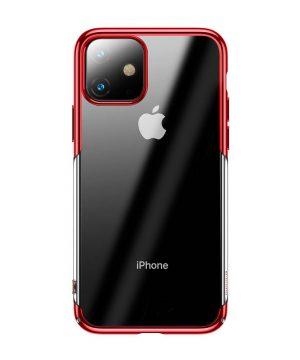 Ochranný tvrdý obal pre iPhone 11 v lesklej červenej farbe.