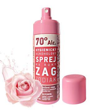 Alkoholový hygienický sprej na ruky - 125ml