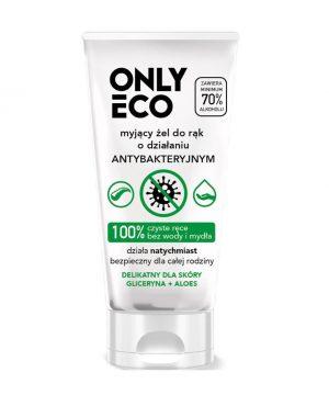 Antibakteriálny gél na ruky OnlyEco s Aloe Vera, 50 ml
