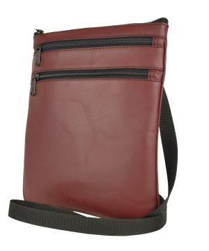 Luxusná kožená taška, viacúčelové púzdro. Kožené tašky (etuje) sú modernou a obľúbenou alternatívou k batohom do školy a do práce