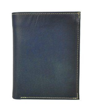 Luxusná kožená peňaženka č.8560 v tmavo modrej farbe