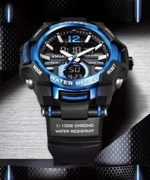 Kvalitné kombinované hodinky v niekoľkých farbách