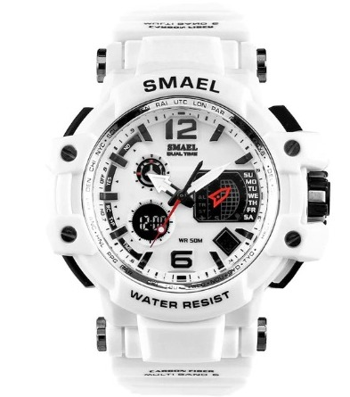 Masívne kombinované hodinky v odolnom spracovaní a viac farbách
