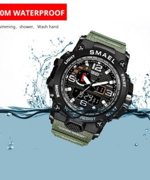Športové pánske hodinky v odolnom spracovaní vo viac farbách