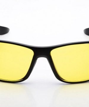 Štýlové okuliare pre šoférov s lesklým čiernym rámikom