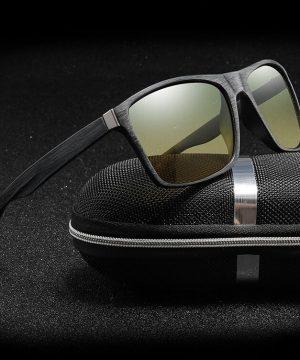 Tieňované polarizované okuliare na šoférovanie v noci aj cez deň