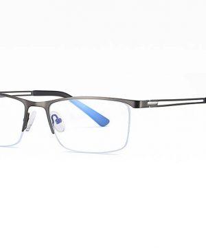 Business luxusné okuliare s filtrom proti žiareniu počítača - sivé