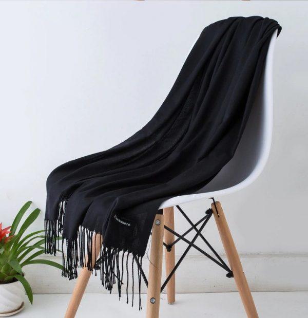 Kašmírový tenký šál v niekoľkých farbách pre dámy aj pánov