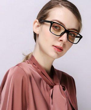 Kvalitné retro okuliare s filtrom na prácu s počítačom