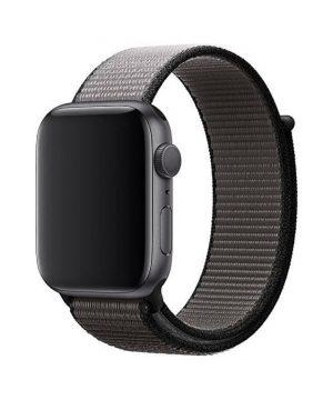 Náramok pre Apple Watch, Nylon, 38mm / 40mm, Čierny