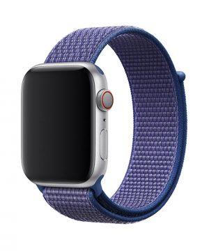 Náramok pre Apple Watch, Nylon, 38mm : 40mm, Modrý