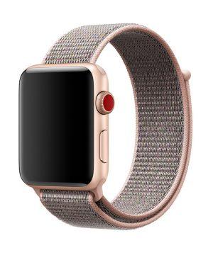 Náramok pre Apple Watch, Nylon, 42mm / 44mm, Pieskový