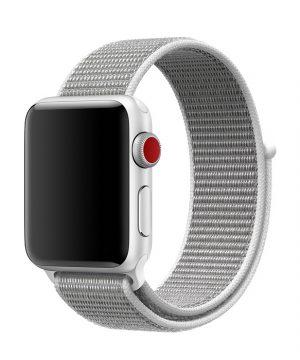Náramok pre Apple Watch, Nylon, 42mm / 44mm, Sivý
