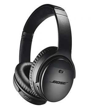 Luxusné bezdrôtové slúchadlá Bose QuietComfort 35 II čierne