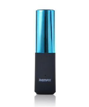 Remax Lipstick 2400mAh Powerbank, modrá farba