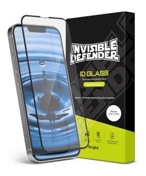 Luxusné tvrdené sklo pre iPhone 13 a iPhone 13 Pro, Invisible Defender ID